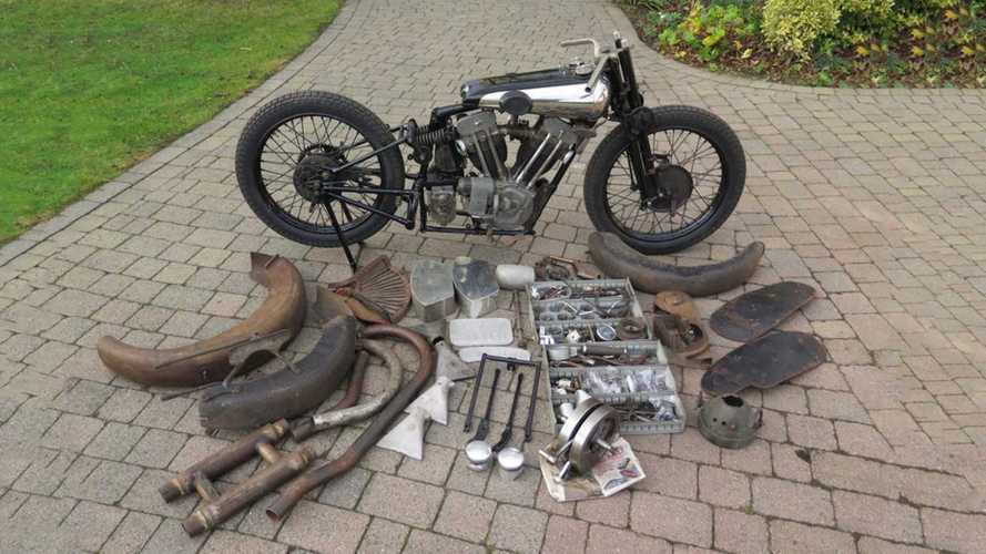 Brough Basket Case Sells For Record Amount At Auction