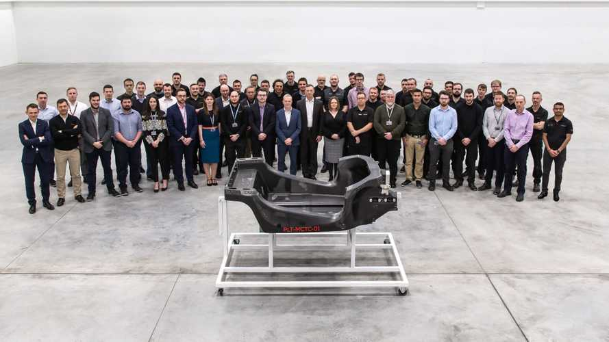 McLaren's first prototype MonoCell from the MCTC
