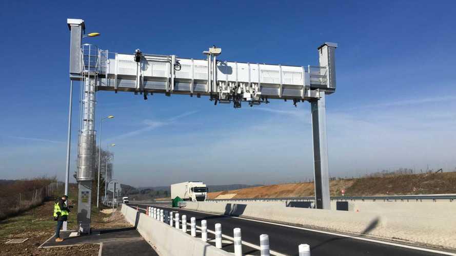 Un péage sans barrière testé en France