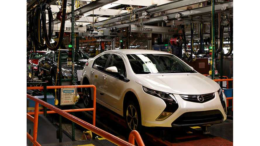 Volt Based Ampera to Be Built In UK in 2016