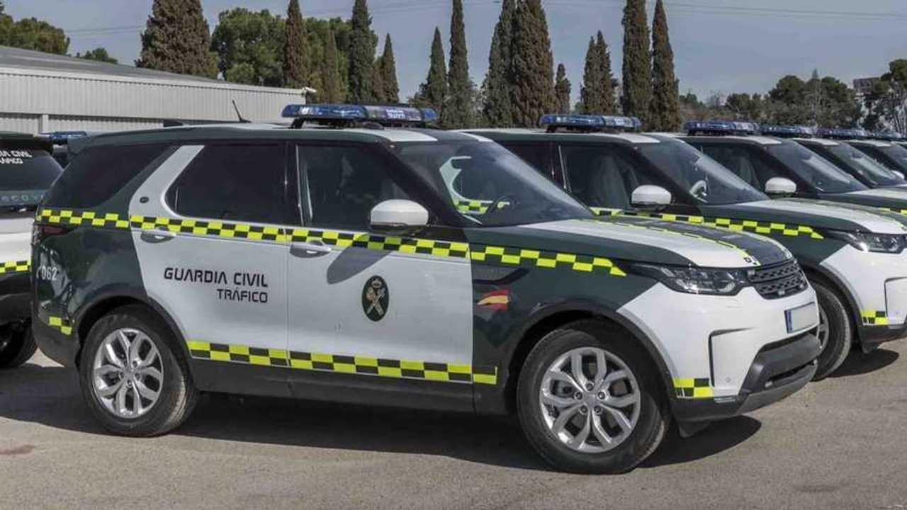 Land Rover Discovery de la Guardia Civil