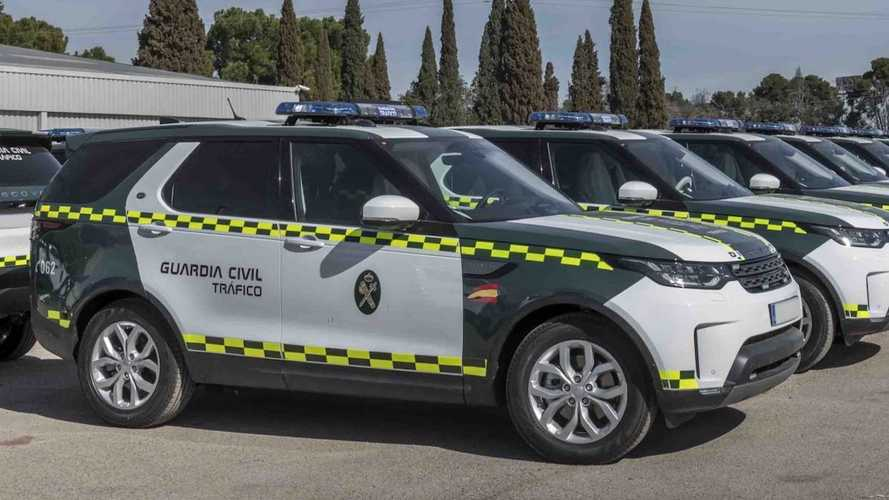 La Guardia Civil se decide por el Land Rover Discovery
