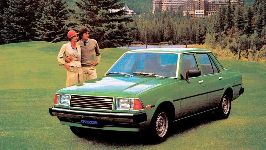 Mazda-Historie: 40 Jahre 626. Angriff in der Mittelklasse