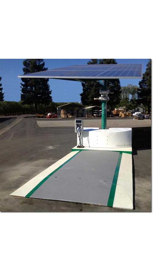 Envision Solar's EV ARC Standalone Charging Station Now in Use at San Diego International Airport