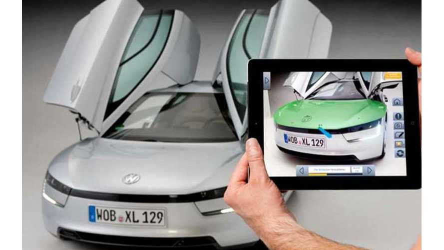 Video: Volkswagen XL1 Gets Augmented Reality Repair App