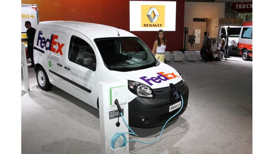 FedEx Acquires 6 Renault Kangoo Z.E. EVs for Use in Brazil
