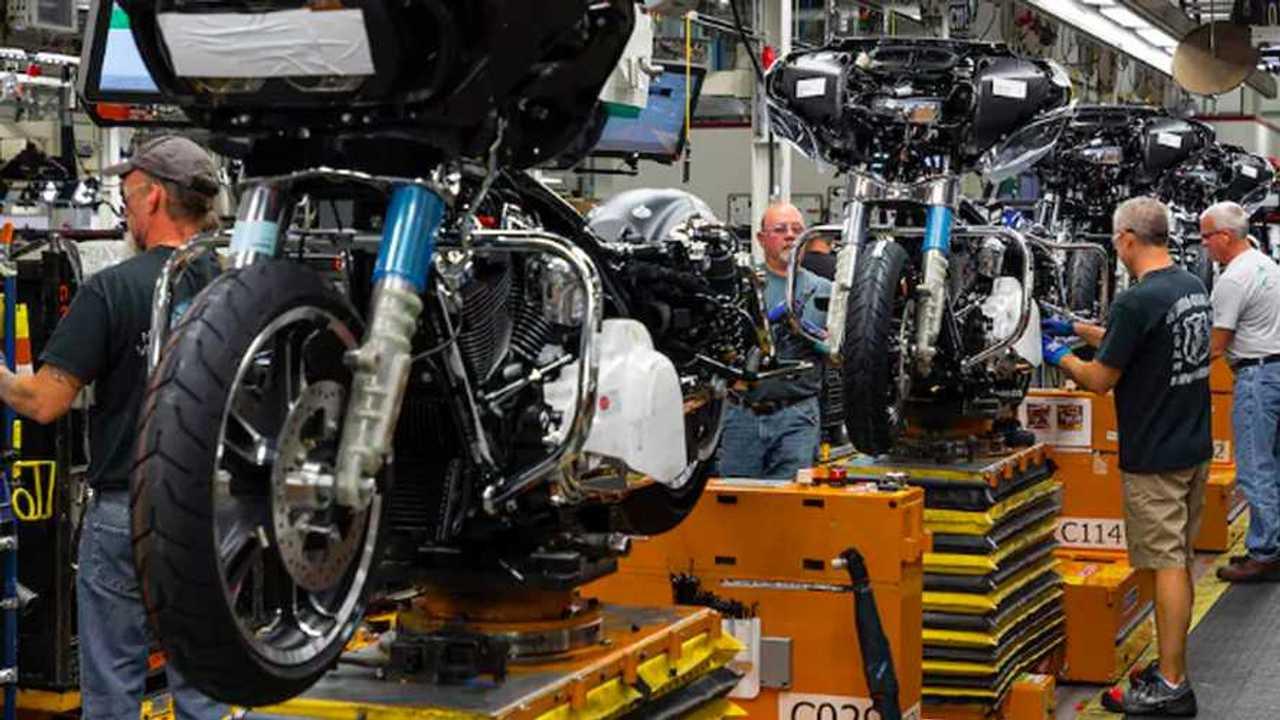 Harley-Davidsons factory