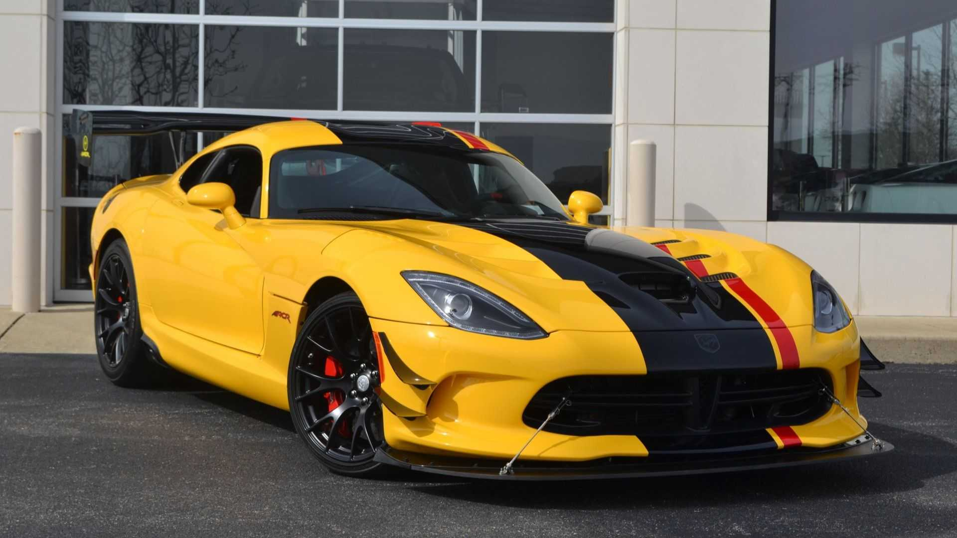 2017 Dodge Viper Gtc >> 2016 Dodge Viper ACR Extreme: The Last Hurrah For The V10 ...