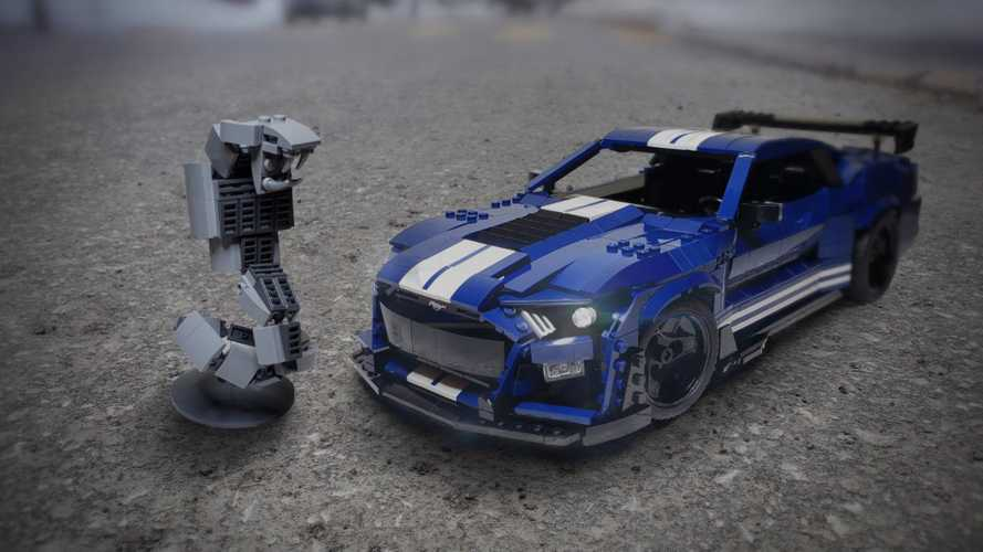 Lego Fan Builds Awesome 2020 Shelby GT500