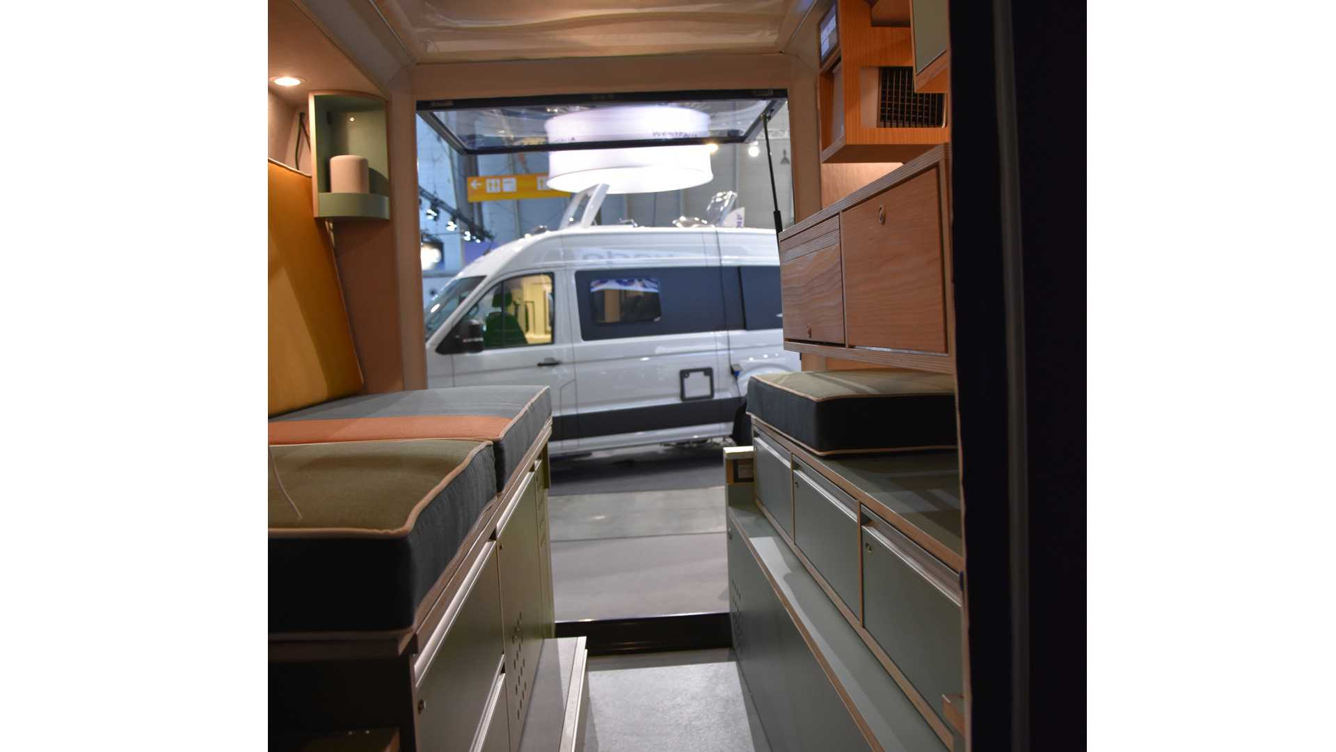 Plug-And-Play Camping Module Easily Turns Cargo Vans Into RVs