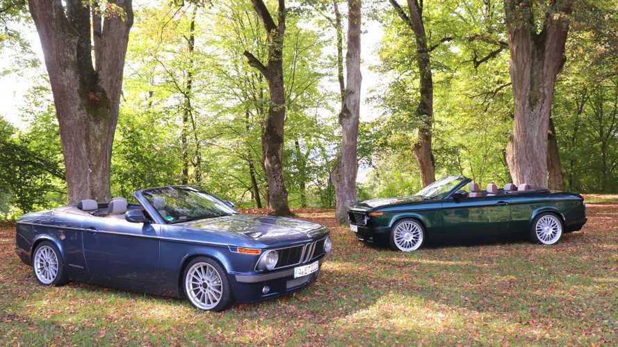Birer retro roadster'a dönüşen BMW 1 serisi otomobilleri görün