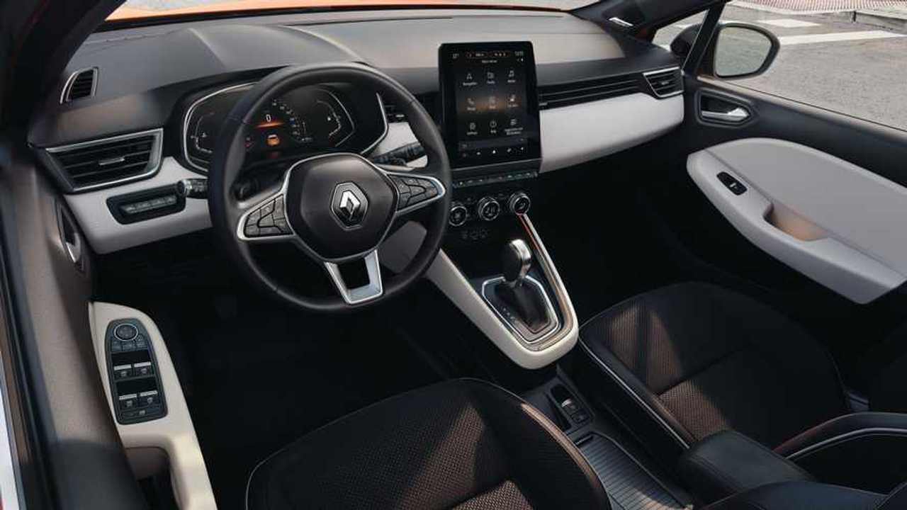 Renault Clio utastér