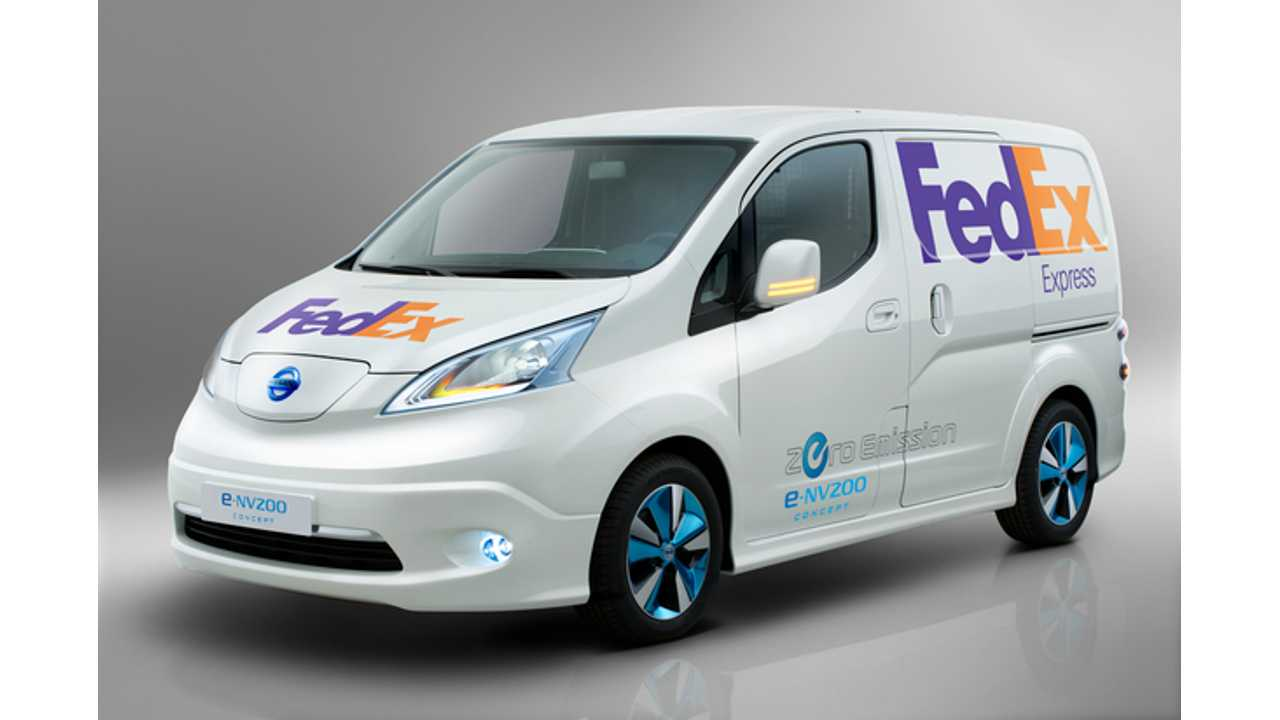 Nissan Expands Test of Electric e-NV200 Van into Singapore; Headed to US Next