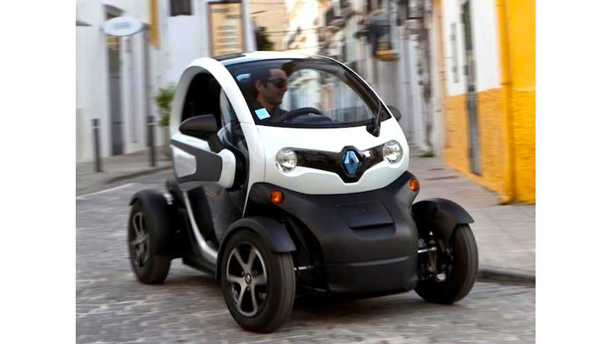 In Europe, Sales of Pure Electric Vehicles Increased 20-Fold From 2010 to 2012