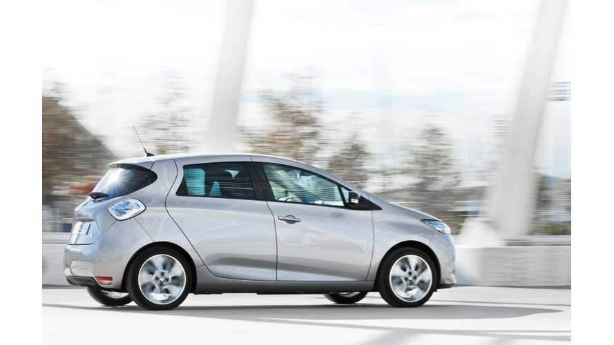 Renault Zoe Performs Like It's Not Electric; Dubbed World's Best Affordable Electric Vehicle