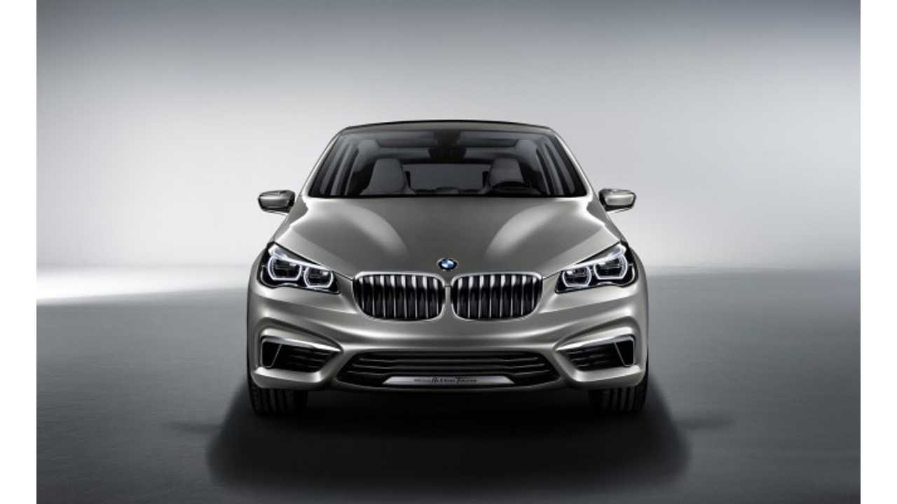 BMW Plug-In Hybrid Concept Active Tourer to Make US Debut at New York Auto Show (Video)