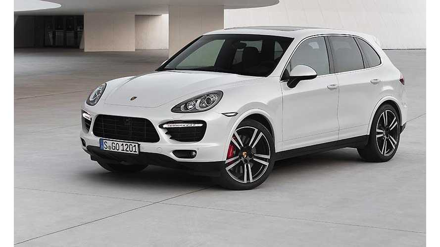 2015 Porsche Cayenne Plug-In Hybrid Coming Soon
