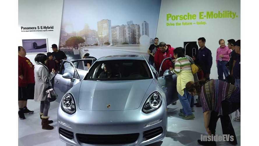 2014 Porsche Panamera S E-Hybrid Sales Started In November