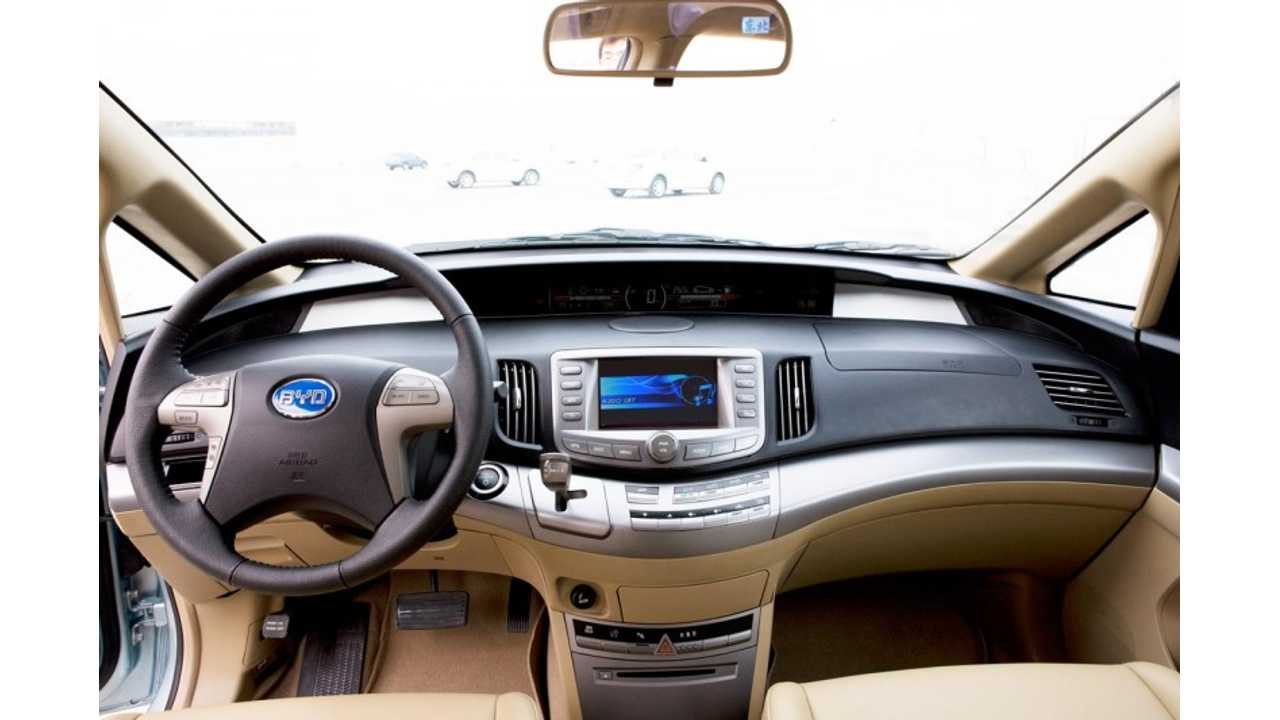 BYD e6 Interior Is Well Appointed