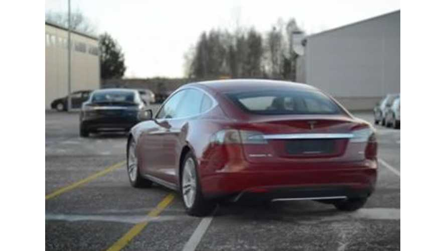 Video: Estonia Gets First Tesla Model S Shipments