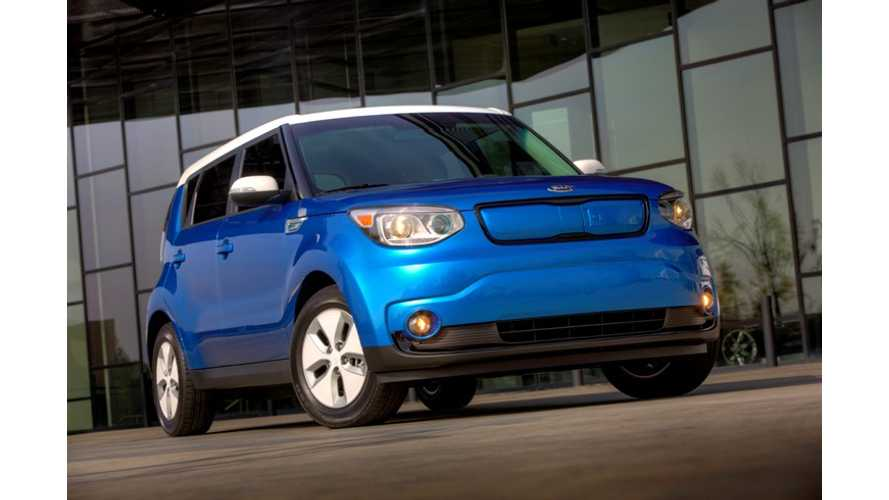 2015 Kia Soul EV Makes World Debut in Chicago