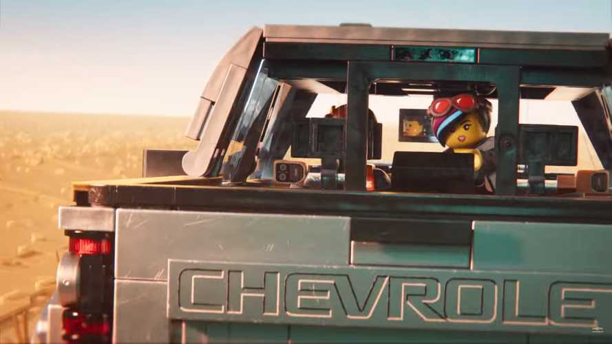 Chevrolet Silverado Lego Movie