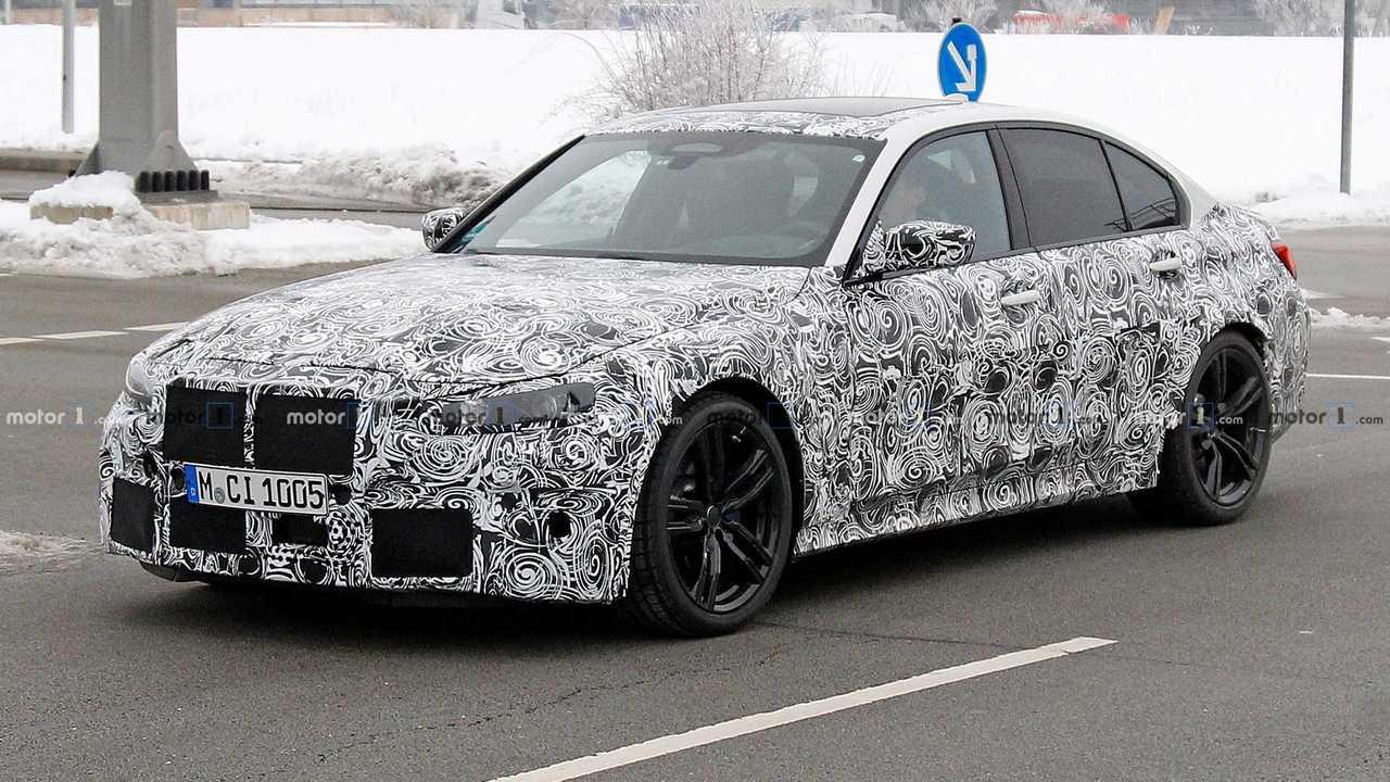 BMW M3 2020 - Flagra