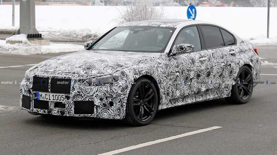 La nouvelle BMW M3 rode dans les rues de Munich