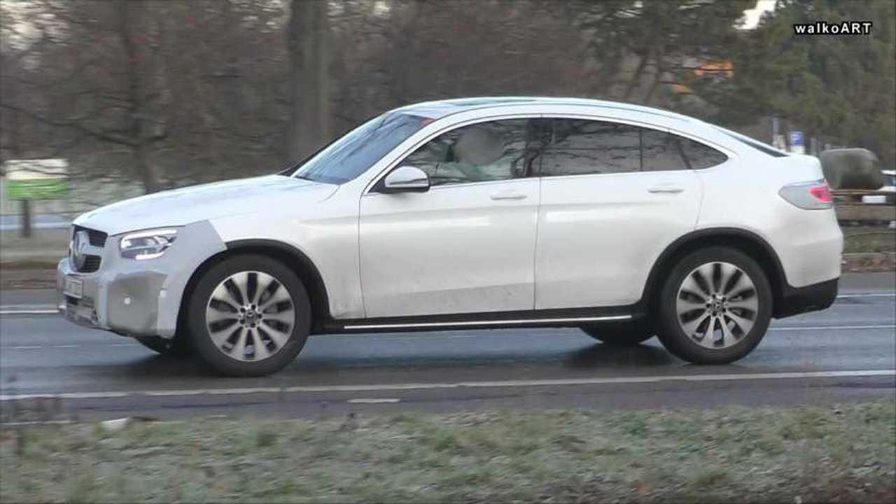 Mercedes GLC Coupe - Facelift