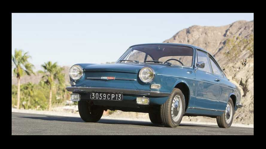 Une Simca 1000 Coupé 1967 aux enchères Bonhams de Scottsdale