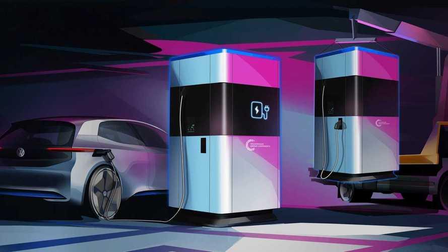 VW's electric car 'powerbanks'