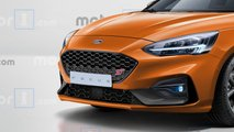2019 Ford Focus ST render