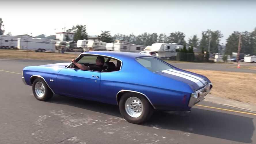 Dodge Demon, Chevrolet Chevelle ile drag yarışında