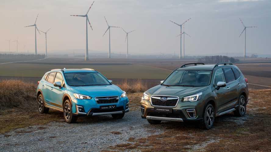 Subaru XV y Forester e-Boxer 2019, nuevos híbridos a la palestra