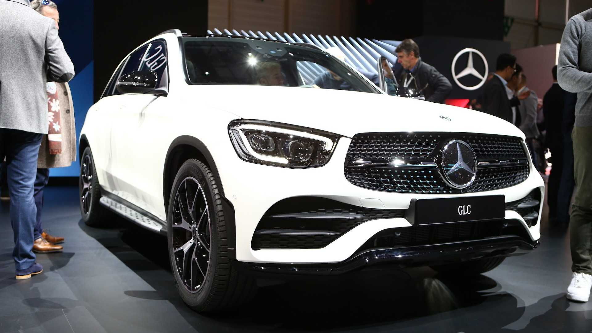 2020 Mercedes-Benz GLC: Update, Changes, More Power, Release >> 2020 Mercedes Benz Glc Debuts In Geneva With Mild Facelift