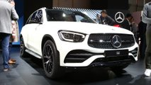 Mercedes GLC facelift at the 2019 Geneva Motor Show