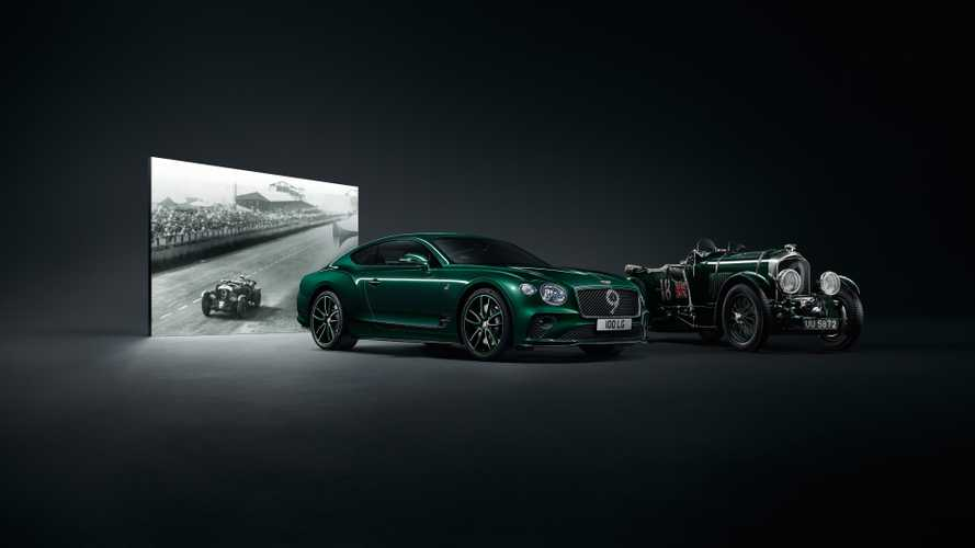 Bentley Celebrates 100 Years With Rare Number 9 Edition