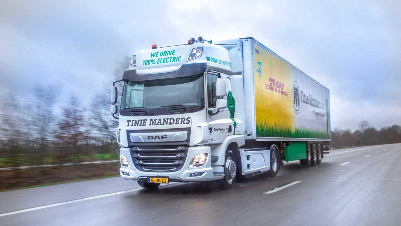 DAF CF Electric Tinie Manders Transport