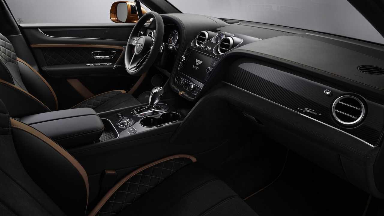 Bentley Bentayga sebesség