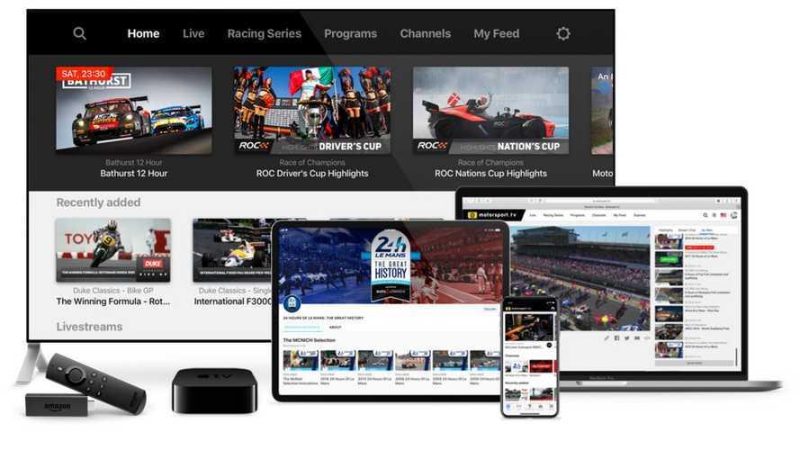 Motorsport.tv lancia un servizio gratuito per i fan