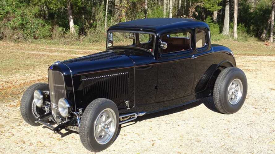 Experimental 1932 Ford 5 Window Hot Rod Up For Auction