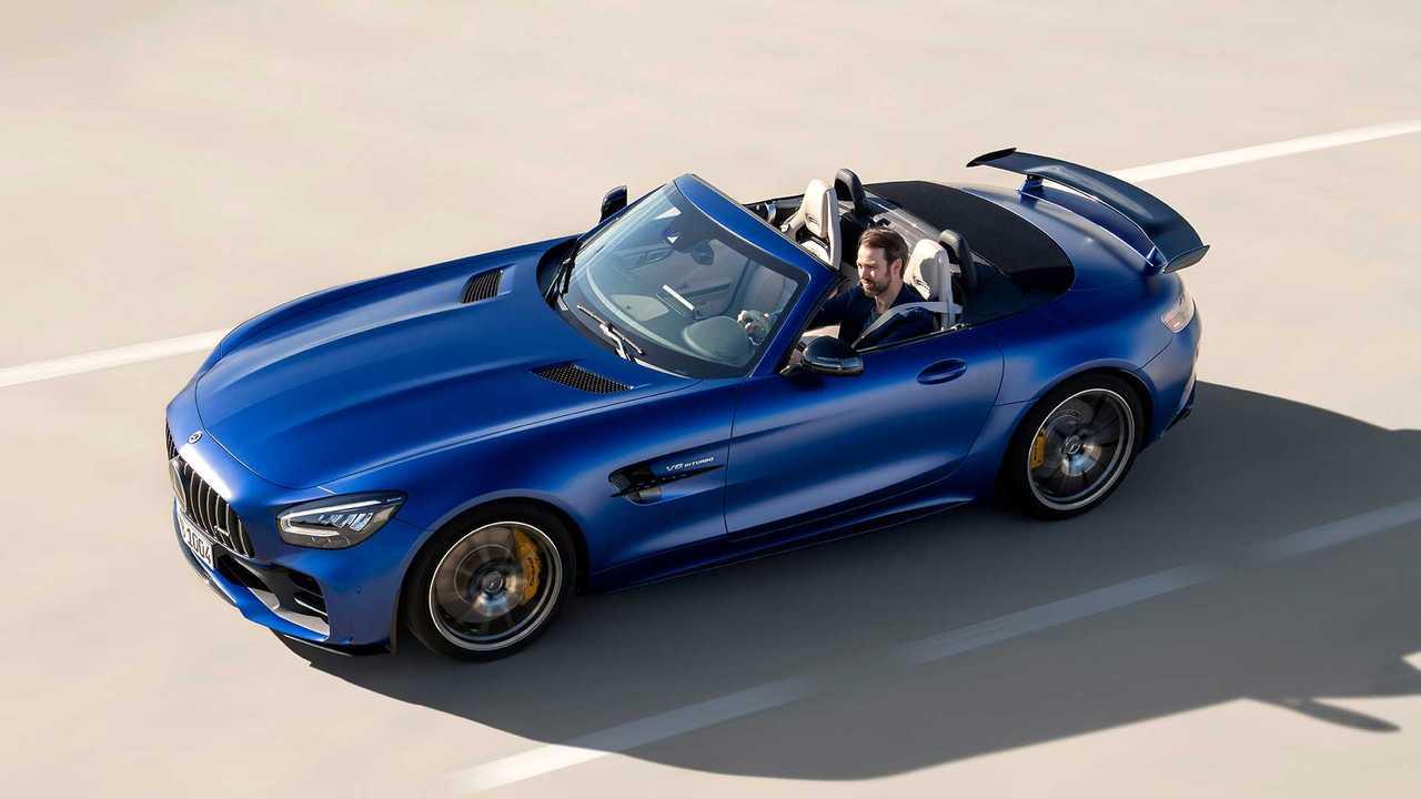 Mercedes Amg Gt R Roadster Drops Its Top In Geneva