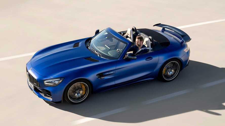 Mercedes-AMG GT R Roadster, yüksek performansı ile geldi