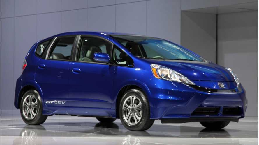 Honda Fit EV Gets EPA Best 118 MPGe Rating, 82 Mile Range