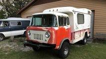 Jeep Forward Control Camper