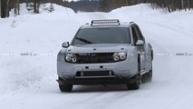 Dacia Duster EV mule spy photos