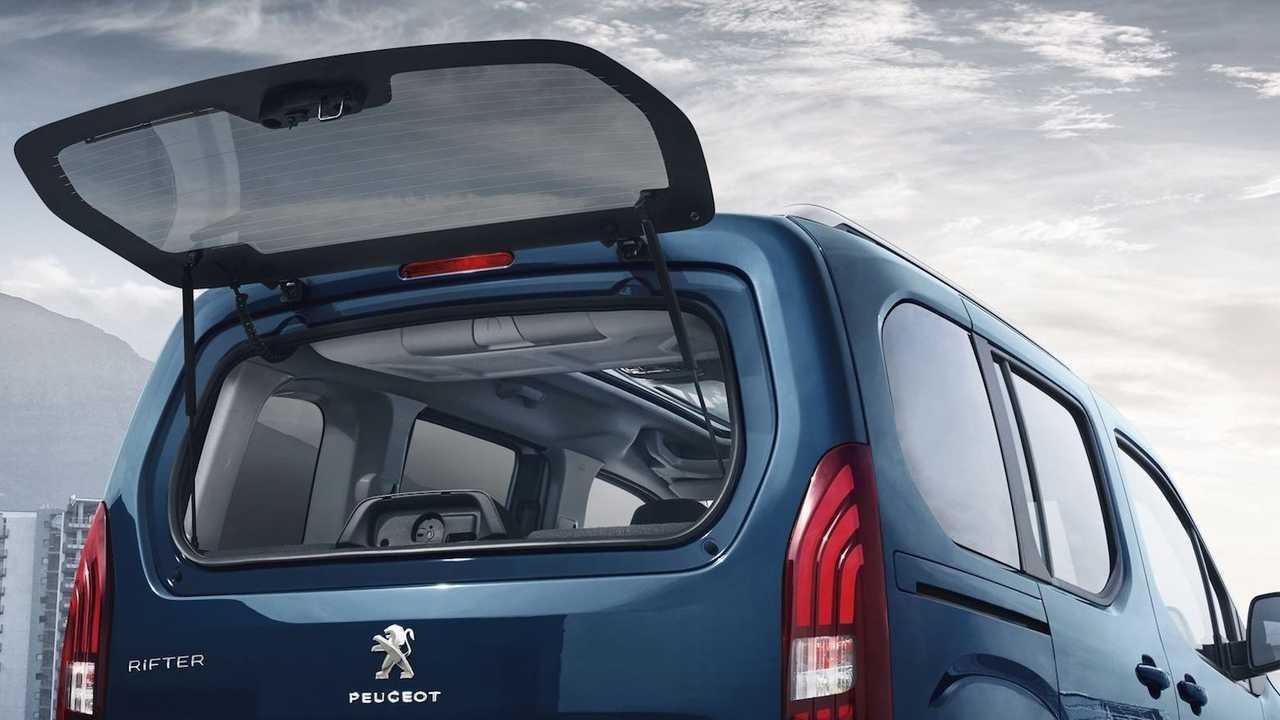 Peugeot Rifter Long 2019