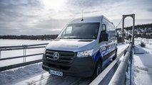 Mercedes Vito eSprinter, winter test