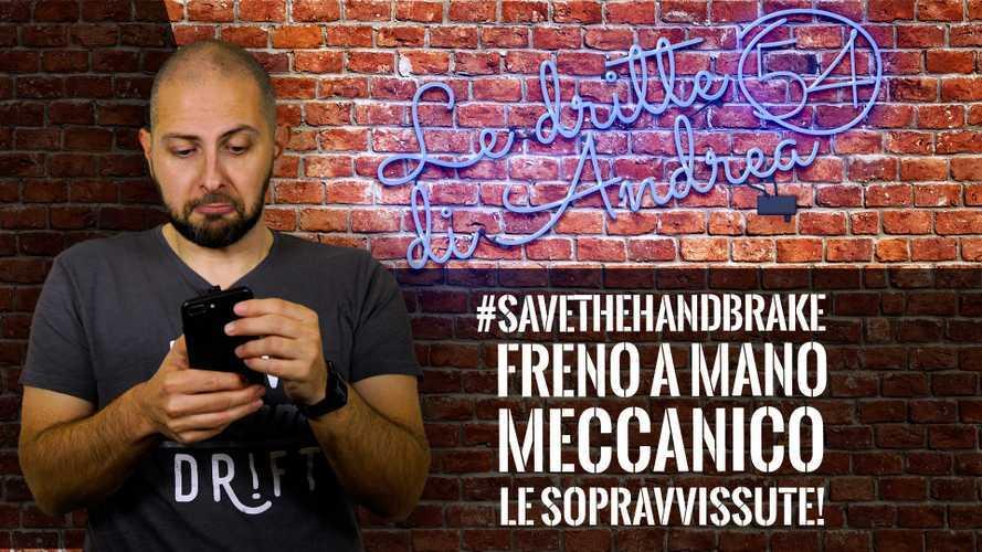 #SAVETHEHANDBRAKE! Freno a mano meccanico: le sopravvissute!