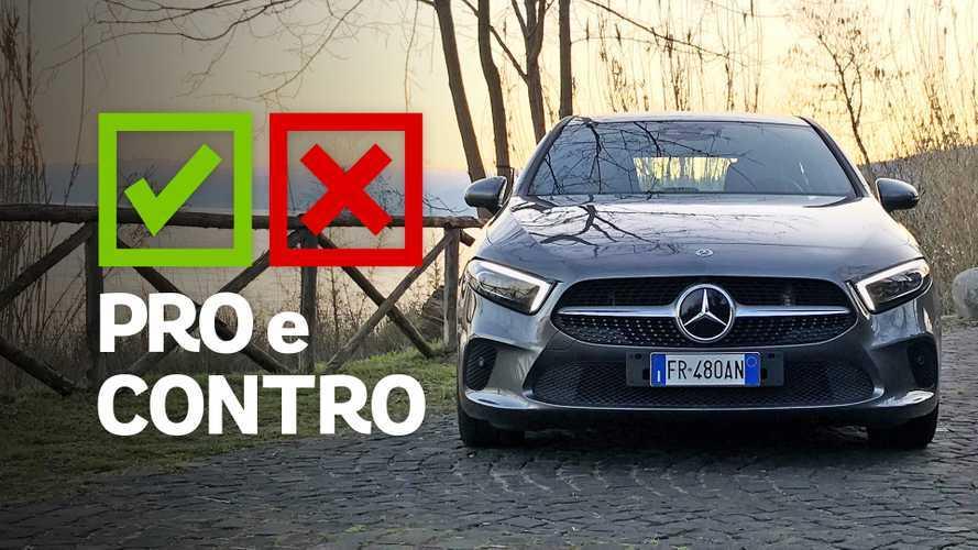 Mercedes Classe A 200 Automatic Sport, pro e contro
